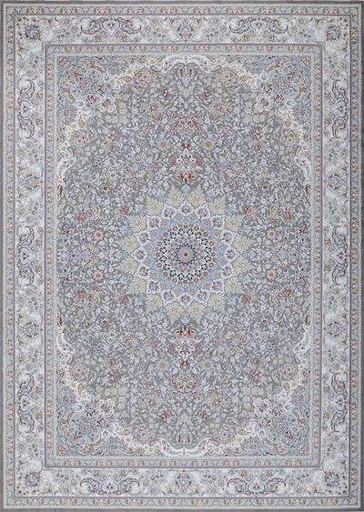 فرش ماشینی سنتی پرنیا زمینه سیلور