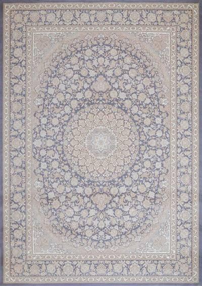 فرش ماشینی سنتی - بامبو 45 برجسته زمینه فیلی
