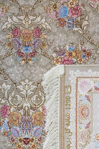 فرش ماشینی سنتی گیلدا برجسته