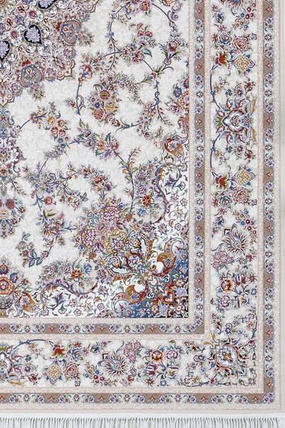فرش ماشینی سنتی - فلورا برجسته