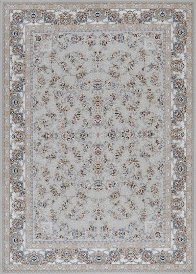 فرش ماشینی سنتی - سالار برجسته زمینه سیلور