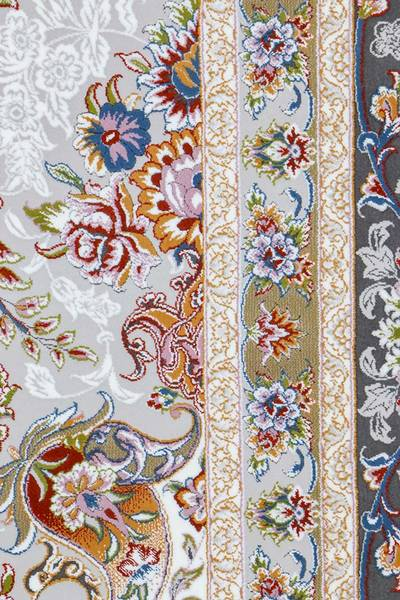 فرش ماشینی سنتی فلورا برجسته
